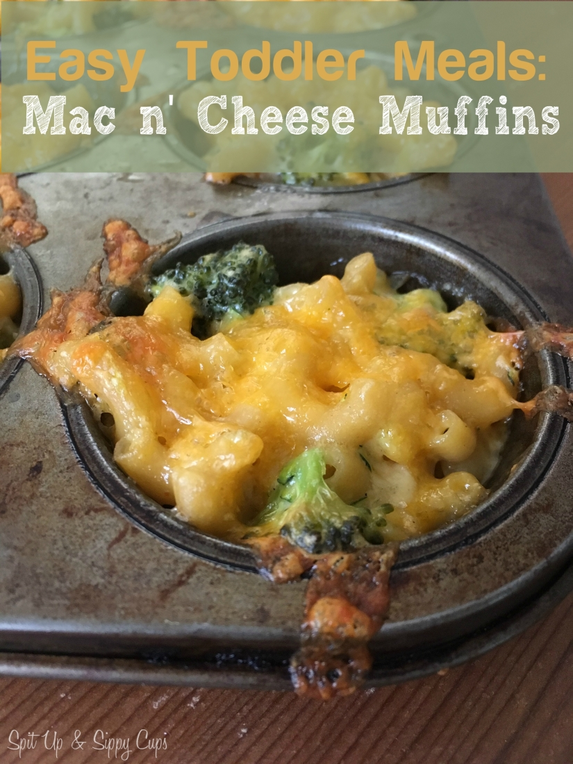 Mac N' Cheese Muffins | Spit Up & Sippy Cups